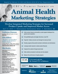 Marketing Strategies - CBI