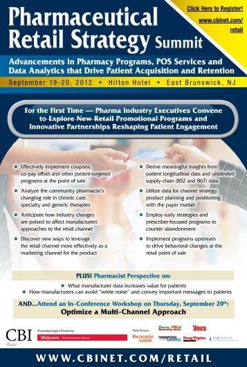 Pharmaceutical Retail Strategy Summit Pharmaceutical Retail ... - CBI