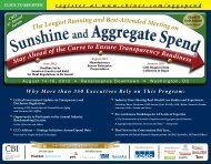 Sunshine and Aggregate Spend Sunshine and Aggregate Spend - CBI