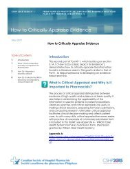 How to Critically Appraise Evidence