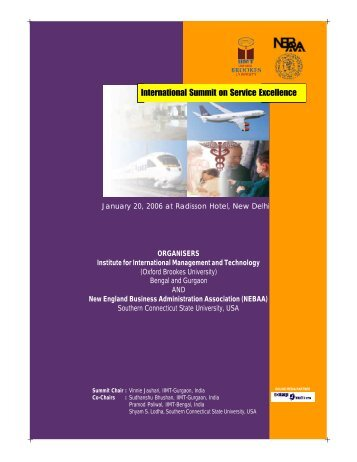 Summit Brochure - Jsr-iimt.in