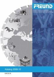 FREUND Katalog 2008