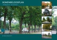 Bomenbeleidsplan Naarden - Leiedal