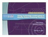 Presentation - Licensing Executives Society USA and Canada