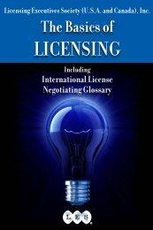 Licensing Executives Society USA and Canada