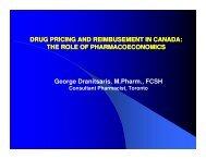 Drug A - Licensing Executives Society USA and Canada