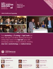 From dealmaking to IP strategy to legal trends and more, this year's ...