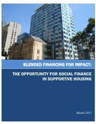 Blended Financing - MaRS Discovery District