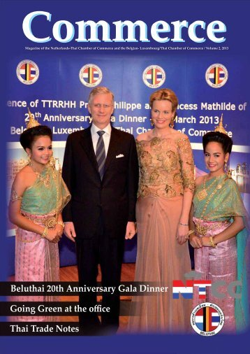 Beluthai 20th Anniversary Gala Dinner Going Green at the offi ce ...