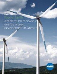 Feed-in tariffs Accelerating renewable energy project development ...