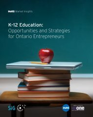 K–12 Education - MaRS Discovery District