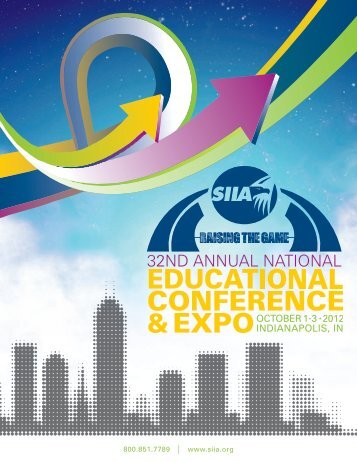 Conference Brochure - SIIA