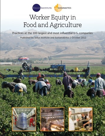Publication: Worker Equity in Food and Agriculture - Tellus Institute
