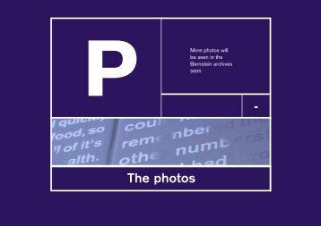 The photos - - Volker Licht