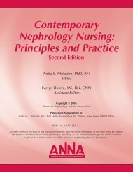 Contemporary Nephrology Nursing: Principles and Practice, Second