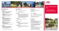Flyer Fort - Kommunalunternehmen Kliniken und Heime des Bezirks ...