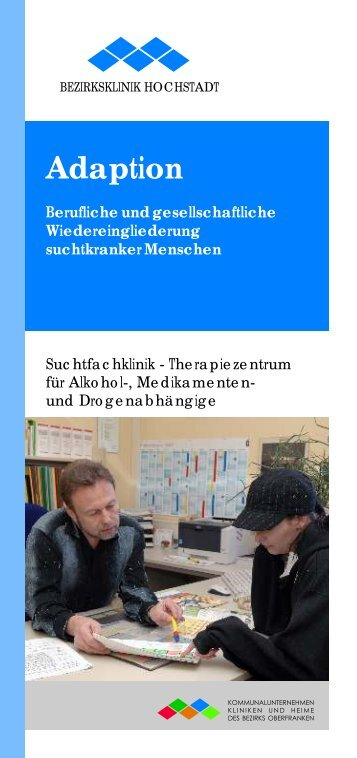 adaption - Kommunalunternehmen Kliniken und Heime des Bezirks ...