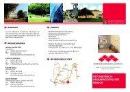 Flyer - Kommunalunternehmen Kliniken und Heime des Bezirks ...