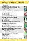 Broschüre - Kommunalunternehmen Kliniken und Heime des ... - Seite 7