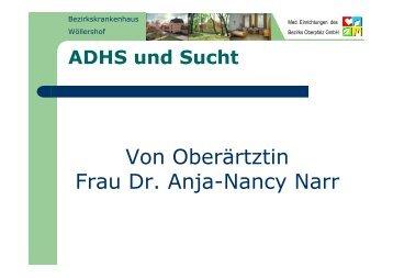 ADHS und Sucht - Kommunalunternehmen Kliniken und Heime des ...
