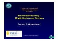 Vortrag - Kommunalunternehmen Kliniken und Heime des Bezirks ...