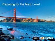 Preparing for the Next Level - International Water Week 2013