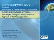 Mississippi - International Water Week 2013
