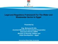 Legal and Regulatory Framework For The Water and Wastewater ...
