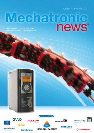 Mechatronic-News-Ausgabe-16-November-2013 - Köhler + Partner