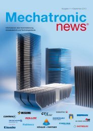 Mechatronic-News-Ausgabe-11-September-2013 - Köhler + Partner