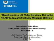 """Benchmarking US Water Services: Using the 10 Attributes of ..."