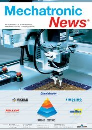 Mechatronik-News-Ausgabe-1-Februar-2010 - Köhler + Partner