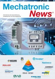 Mechatronic-News-Ausgabe-1-Februar-2011 - Köhler + Partner