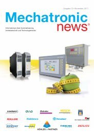 Mechatronic-News-Ausgabe-12-November-2011 - Köhler + Partner