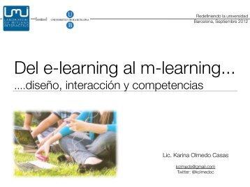 ....diseño, interacción y competencias - LMI