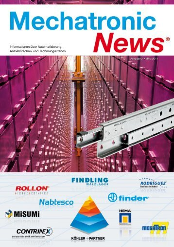 Mechatronic-News-Ausgabe-2-Maerz-2011 - Köhler + Partner