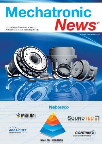 Mechatronik-News-Ausgabe-10-Oktober-2009 - Köhler + Partner