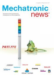 Mechatronic-News-Ausgabe-8-September-2011 - Köhler + Partner