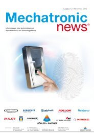 Mechatronic-News-Ausgabe-13-November-2012 - Köhler + Partner