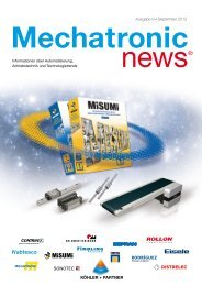 Ausgabe 9 September 2012 Mechatronic News - Köhler + Partner