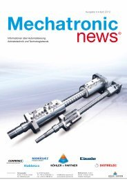 Ausgabe 4 April 2012 Mechatronic News - Köhler + Partner
