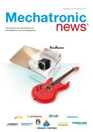 Mechatronic-News-Ausgabe-14-November-2012 - Köhler + Partner