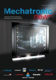 Mechatronic-News-Ausgabe-6-April-2013 - Köhler + Partner