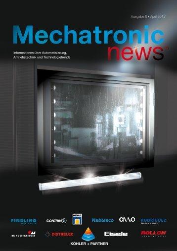 Mechatronic-News-Ausgabe-6-April-2013 - Köhler + Partner