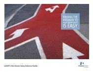 LANCE Ultra Kinase Assay Selection Guide