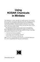 Using KODAK Chemicals in Minilabs - PhotoLabs.ru