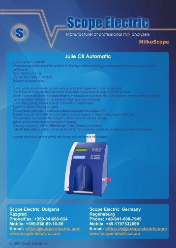 Julie C8 Automatic - Saint-Tech