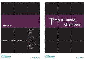 emp. & Humid. Chambers - Saint-Tech
