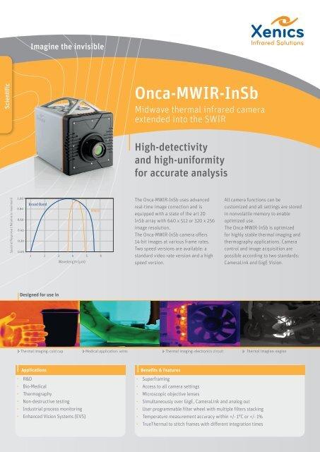 Onca-MWIR-InSb - XenICs