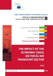 the impact of the economic crisis on the eu air transport sector note